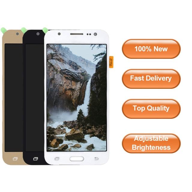 J500 LCD para Samsung Galaxy J5 j500 2015 J500F retroiluminación ajustable J500H J500FN J500M J500Y pantalla táctil + LCD de pantalla la Asamblea