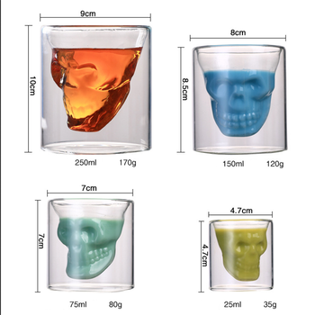 Arshen Creative Skull Shot Glass 1