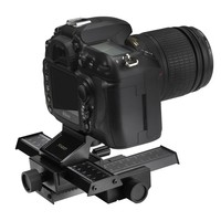 New 4Way Macro Focusing Focus Rail Slider Close Up Shooting Gimbal For Nikon Canon Sony DSLR