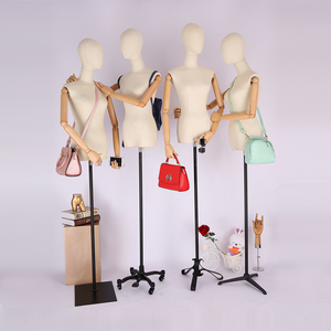 New Style Hot Sale Dressmaking Model Female Fabric Mannequin With Golden Head Hot Sale