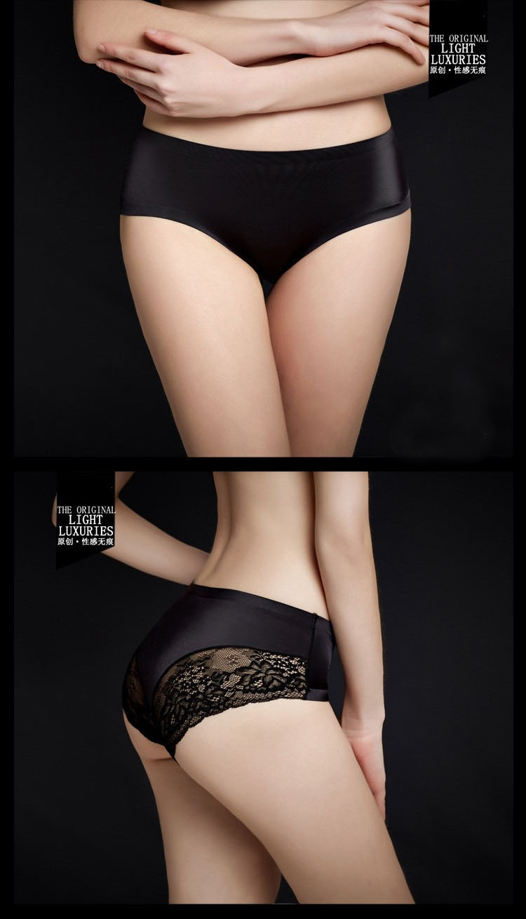 Women's Lace Panties, Seamless Briefs, Underwear, Women Lingerie, Sexy Underwear 13