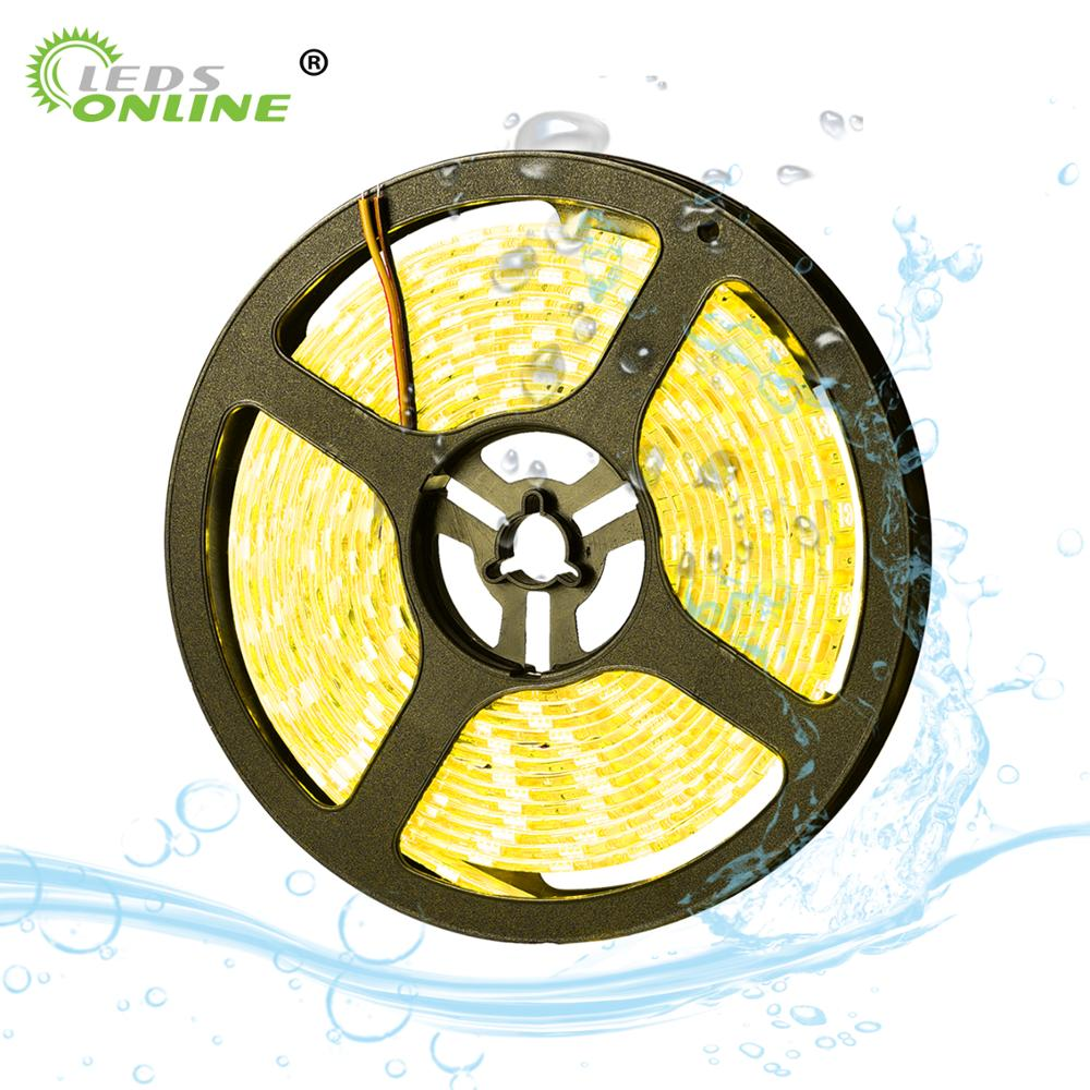 LED Strip 5050 RGB 12V Waterproof Neon Light 60leds/m SMD Tira Tape Flexible Car Auto Saving DIY Ribbon for Home Decr Party