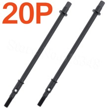 20pcs HobbyPark Hard Steel Straight Rear Axle Drive Shaft Dogbone for 1 10th Axial SCX10 font