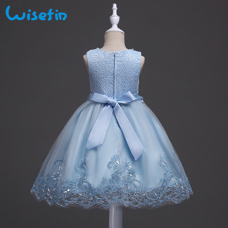 62ca58a13 3-12 Years Princess Flower Girl Dress Wedding Birthday Party Dresses For  Girls Children's Costum Teen Children Formal Gown P30