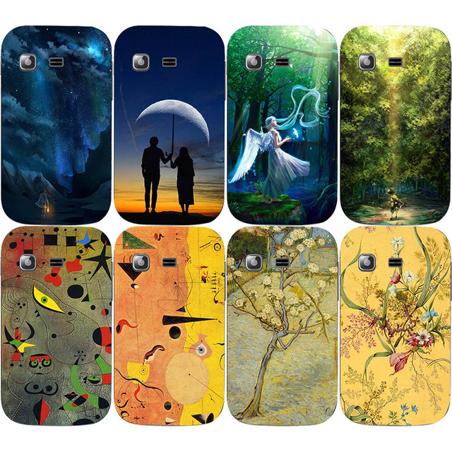 Cell Phone Skin Cases For Samsung Galaxy Pocket Y Neo GT-S5312 S5310 Cases Oil Surrealism Painting Hard Plastic Cover Phone Case