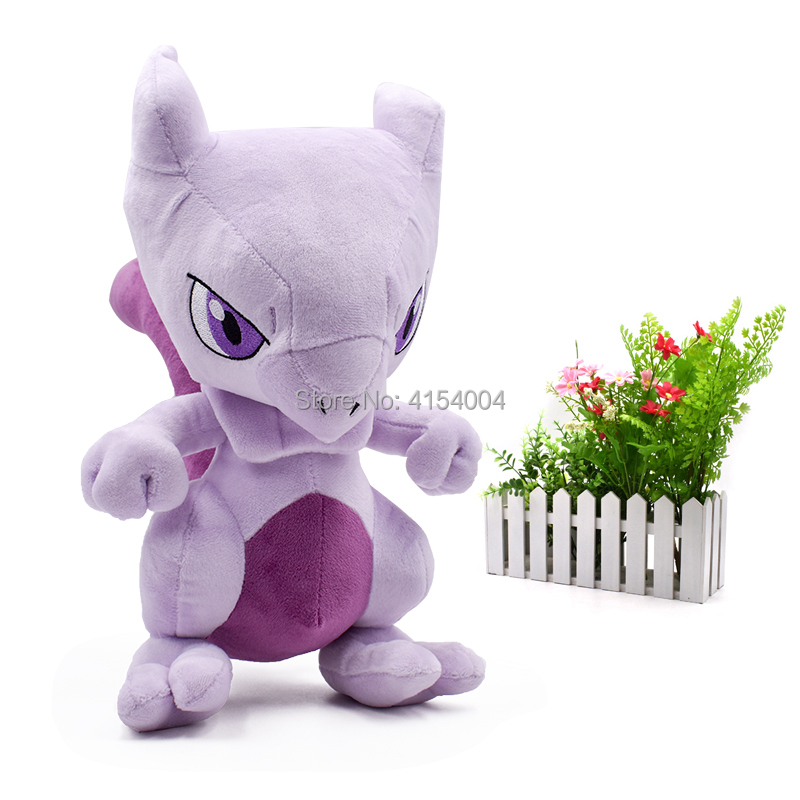 10 pcs/lot New Arrival On Sale Mewtwo Japanese Animal Dolls Plush Doll Hot Toys Great Gift For Kids 30 cm