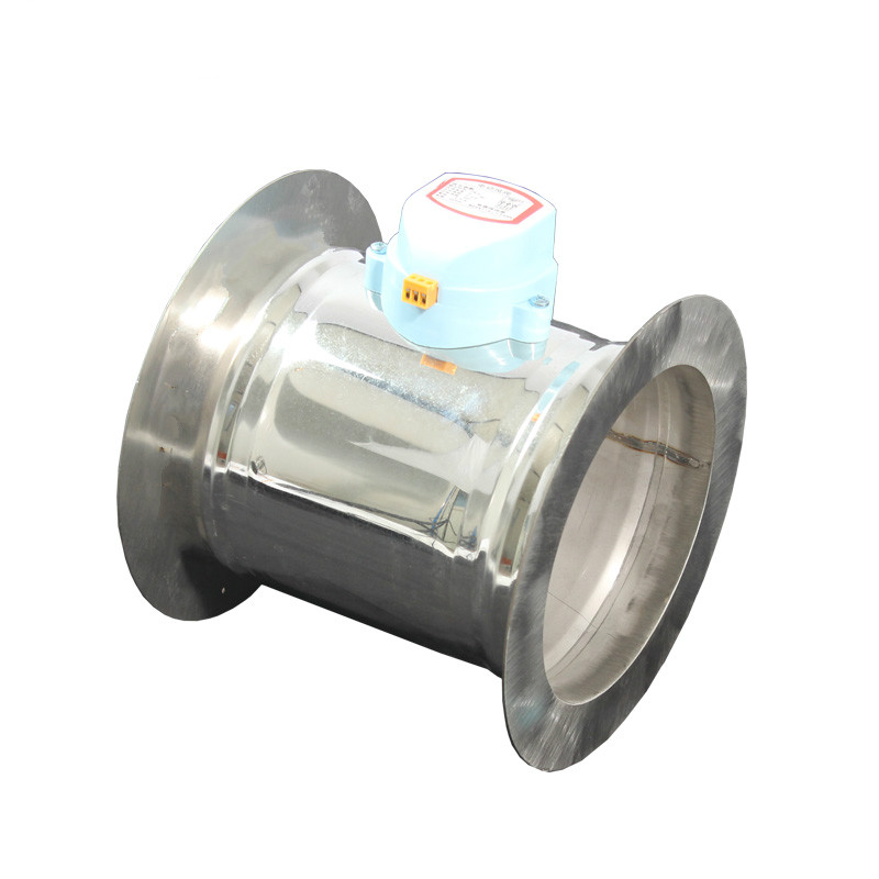 51-150mm Outer diameter stainless steel electric air damper valve with Flange 220V air motorized valve for ventilation pipe include nickel 304 stainless steel pipe tube outer diameter 20mm wall thickness 1 5mm length 200mm