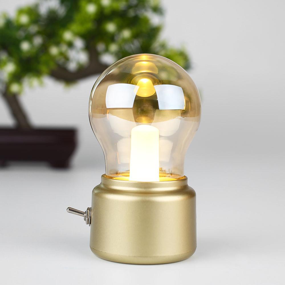 2019 Nouvel An Led ampoule classique lampe de bureau de soufflage - Veilleuses - Photo 4