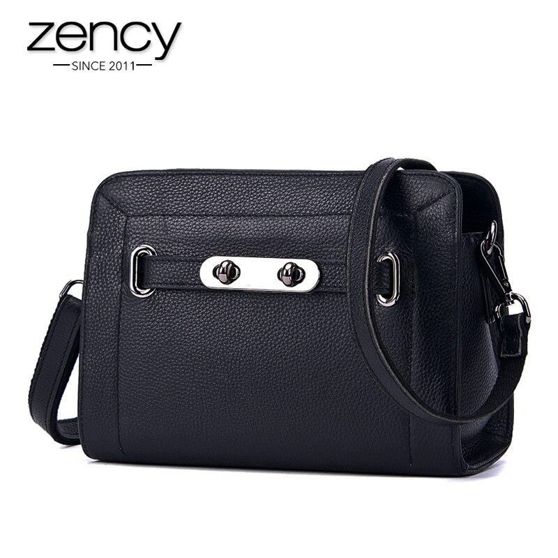 Lock Genuine Leather Luxury Handbags Women Bags Designer Party Ladies Shoulder Famouse Brand Messenger Bag Flap Bolsa Feminina