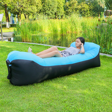 No Need Air Pump! Latest Portable Bean bag Chair for Baby Adult Inflatable Sleeping Sofa Outdoor Lazy Banana Beach Bed