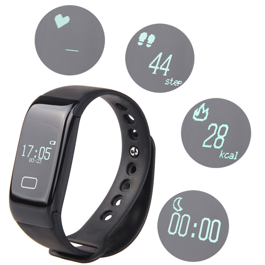 NEW font b Smart b font font b Watch b font Heart Rate Monitor Bluetooth Wristbands