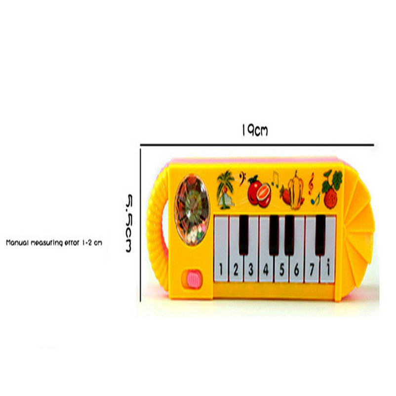On Sale Baby Kids Educational Musical Animal Farm Piano Development Music Toy Musical Toy Musical Teclado Instrument P5