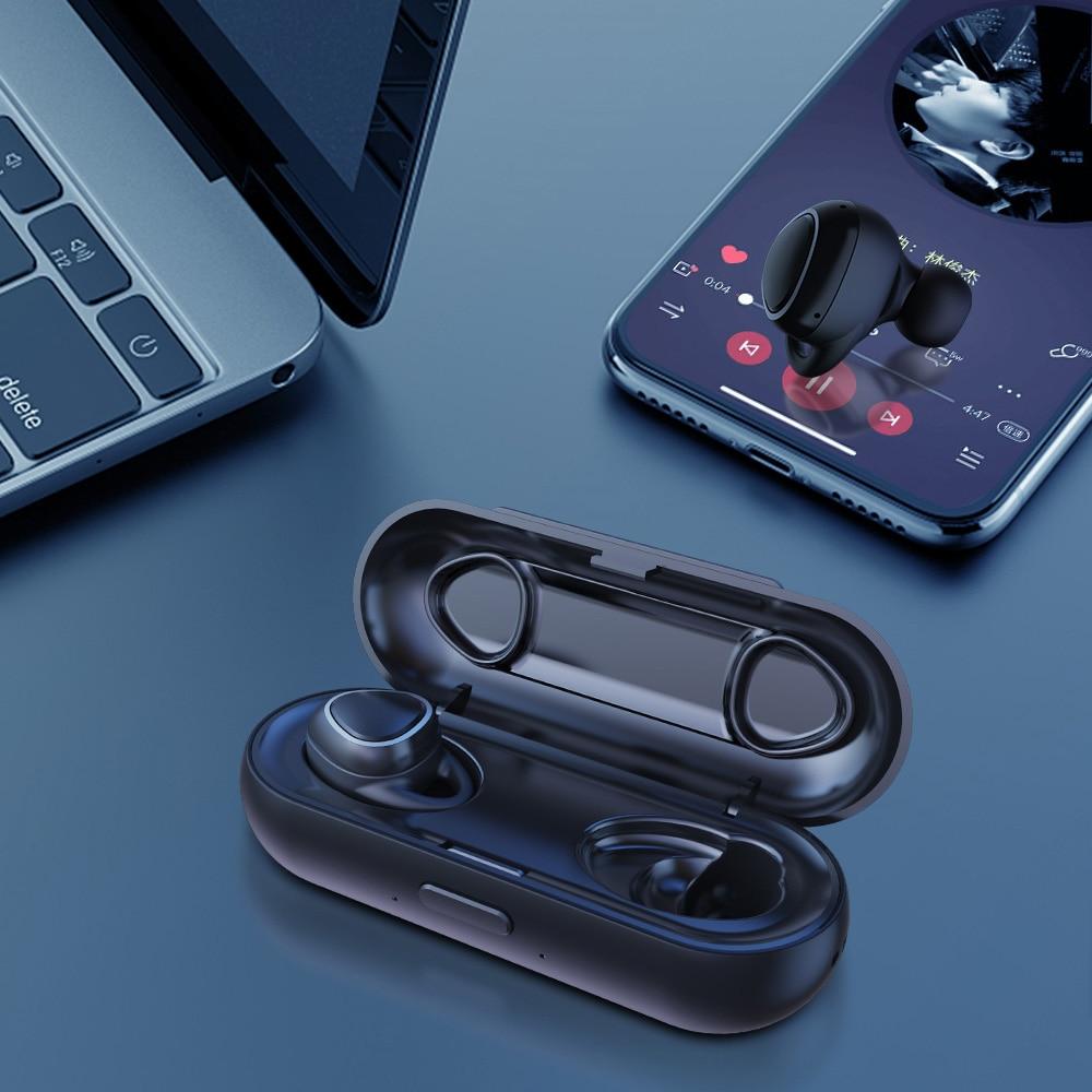 Xi7 TWS Mini Bluetooth 5.0 Earphone Earbuds Wireless earphones Stereo Headset IPX5 Waterproof With Mic And Charging Box