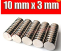 50pcs Bulk mini Small Round NdFeB Neodymium Disc Magnets Dia 10mm x 3mm N35 Super Strong Rare Earth Magnet high quality F14856