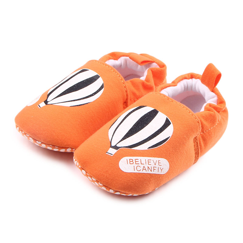 New Arrival Bright Color Hot Air Balloon Newborn Baby Boys Girls Prewalk Shoes For 0-15 Months