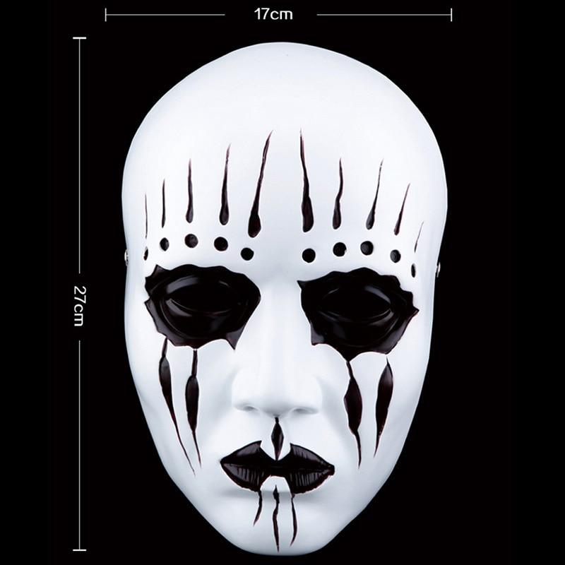 Խեժ Gmask Slipknot Joey Cosplay Mask Մոլախաղեր Դիմակ - Տոնական պարագաներ - Լուսանկար 2