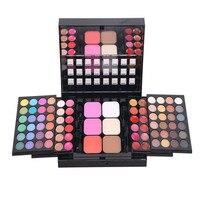 78 Color Eyeshadow Palette Set Make Up Pallete 48 Eyeshadow 24 Lip Gloss 6 Foundation Face