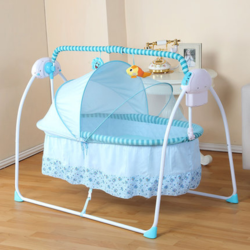 Big Space Baby Crib Rocker 10055 cm 6 KG Electric