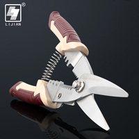 LIJIAN 3 In 1 Multifunctional Cable Wire Stripper Crimping Plier Electronic Scissors Cutter Tool
