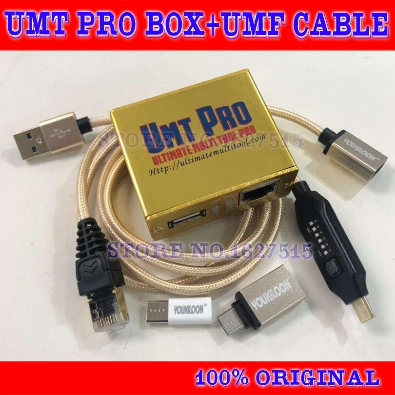 Date 100% d'origine UMT Pro boîte UMT umt pro + Avengers 2in1 boîte + UMF tous les câbles de démarrage livraison gratuite