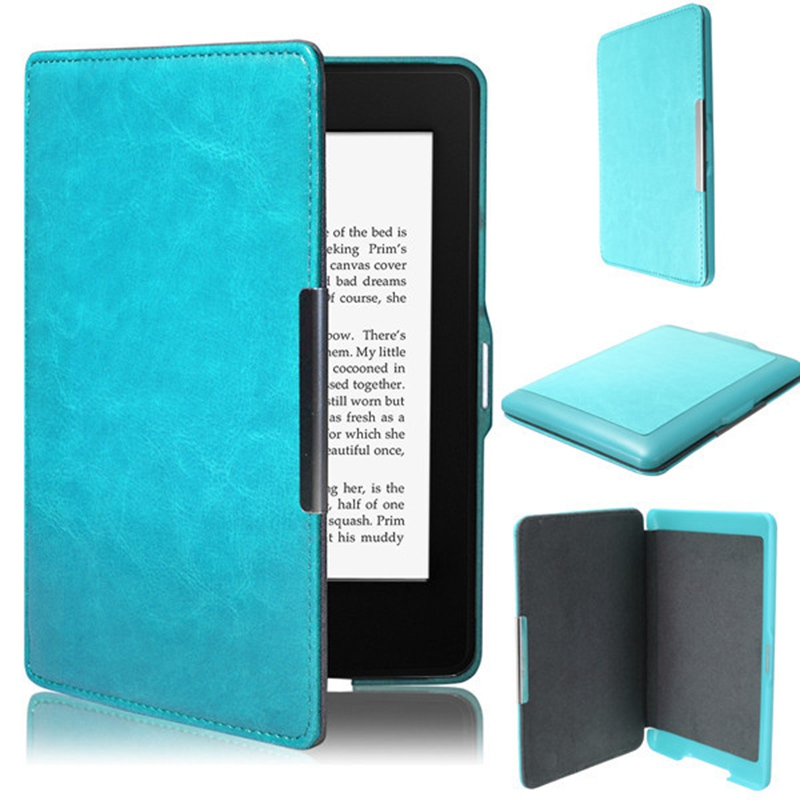Ultra Slim Smart Magnetic Leather Case Cover For Amazon Kindle Paperwhite 1 2 3 New 6inch Cover Case For Kindle Paperwhite цены онлайн