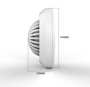 Image 5 - 音声プロンプトワイヤレス煙火災探知センサーローバッテリーが思い出さ高感度煙警報ホームの Gsm 警報システム