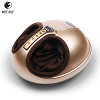 MOFAHE Electric Vibrator Foot Massager Health Care Massage Infrared Heating Therapy Shiatsu Kneading Air Pressure Machine