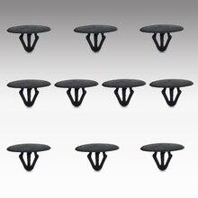 Clip de retención de remache con aislamiento de capucha de nailon civall 10 Uds. Clips de sujeción 81126 37010 para Hyundai Kia
