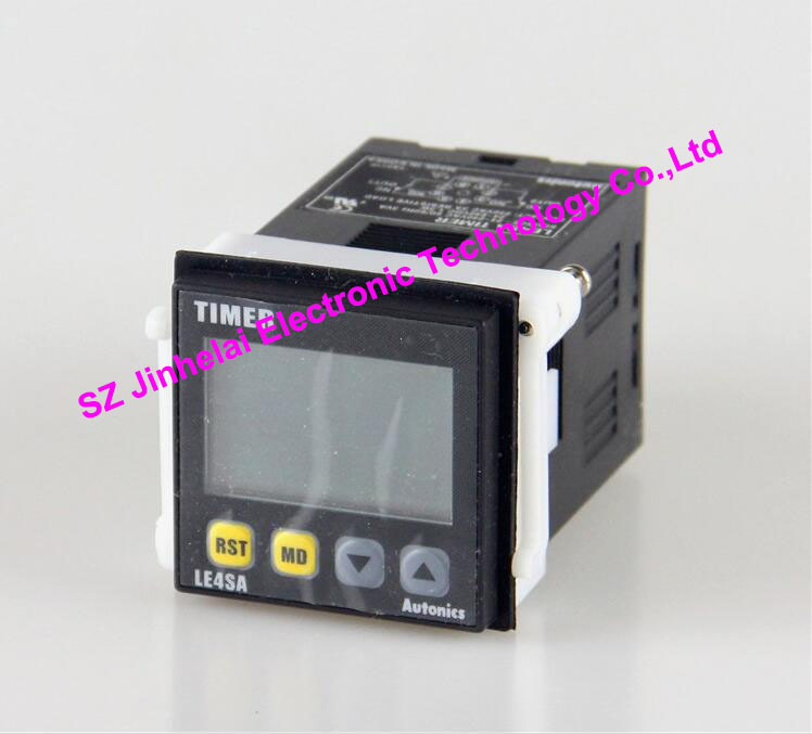 100% Authentic original LE4SA AUTONICS TIME RELAY TIMER 100% authentic original le4s autonics time relay timer