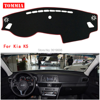 TOMMIA Interior Dashboard Cover Light Avoid Pad Photophobism Mat Sticker For Kia K5