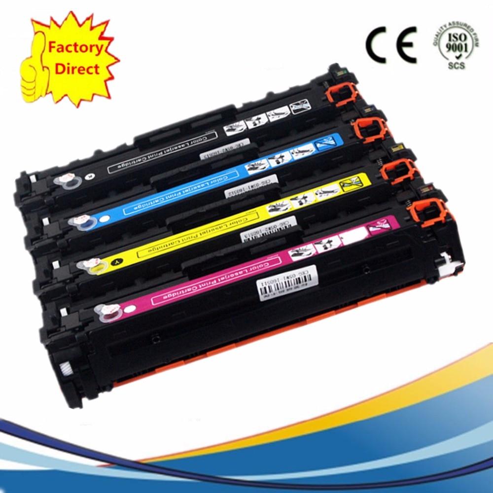124A Q6000A Q6003A Color Toner Cartridges Replacement For HP LaserJet 2605 CM1015MFP CM1017MFP 1600 1600n 2600 2600n 2600dn картридж hp 124a q6000a для hp 1600 2600n 2605 cm1015 1017 черный