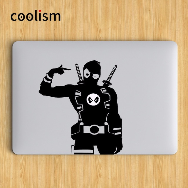 Nifty deadpool superheroes laptop decal sticker for macbook decal air 13 pro retina 11 12 15
