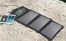 5V 21W Solar Charger Top Quality Folding Solar Phone Charger Dual USB Solar Charger.Solar power bank.