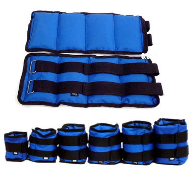 Adjustable Leg Ankle Weights Sand Bag Weights Straps Wrist Resistance Bands For Exercise Fitness Running