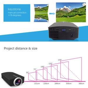 Image 3 - ThundeaL YG500 YG510 Gm80a Mini Proiettore 1800 Lumen LED LCD VGA HDMI HA CONDOTTO il Proiettore di Sostegno 1080P YG500A 3D Portatile proiettore