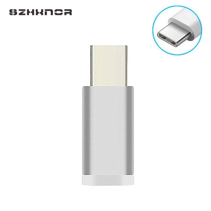 Micro USB To USB Type C <font><b>Charger</b></font> Adapter Converter for <font><b>samsung</b></font> <font><b>galaxy</b></font> s8 s9 plus s8+ BLACKVIEW R7, <font><b>A8</b></font> Max, <font><b>A8</b></font>, A5, Omega Pro/ V6S image