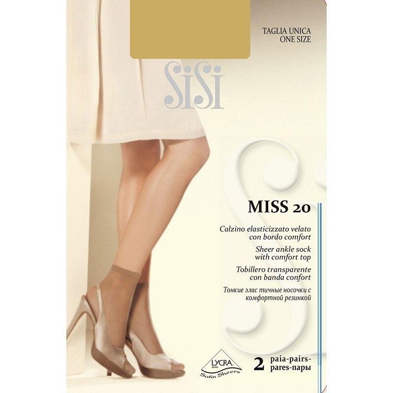 Носки женские Sisi calz.MISS 20 NEW (2 пары)