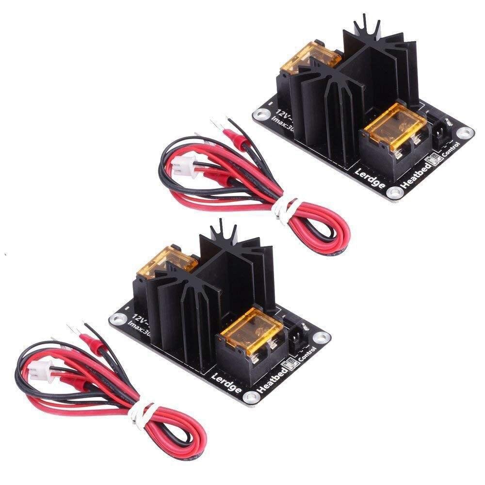 2 piezas actualizado Heatbed módulo expansión 3D impresora bloque caliente Mosfet MOS tubo para extrusora rampas Anet A8 /A6/A2