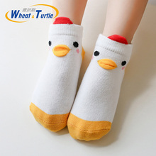 5 Pair/lot Baby Socks Cotton Kids Girls Boys Children Socks For 1-2 Year 2019 autumn winter New infant toddler Kids Socks 5 pairs lot spring autumn high quality girls socks cotton butterfly candy color socks for girls 2 7 year children socks