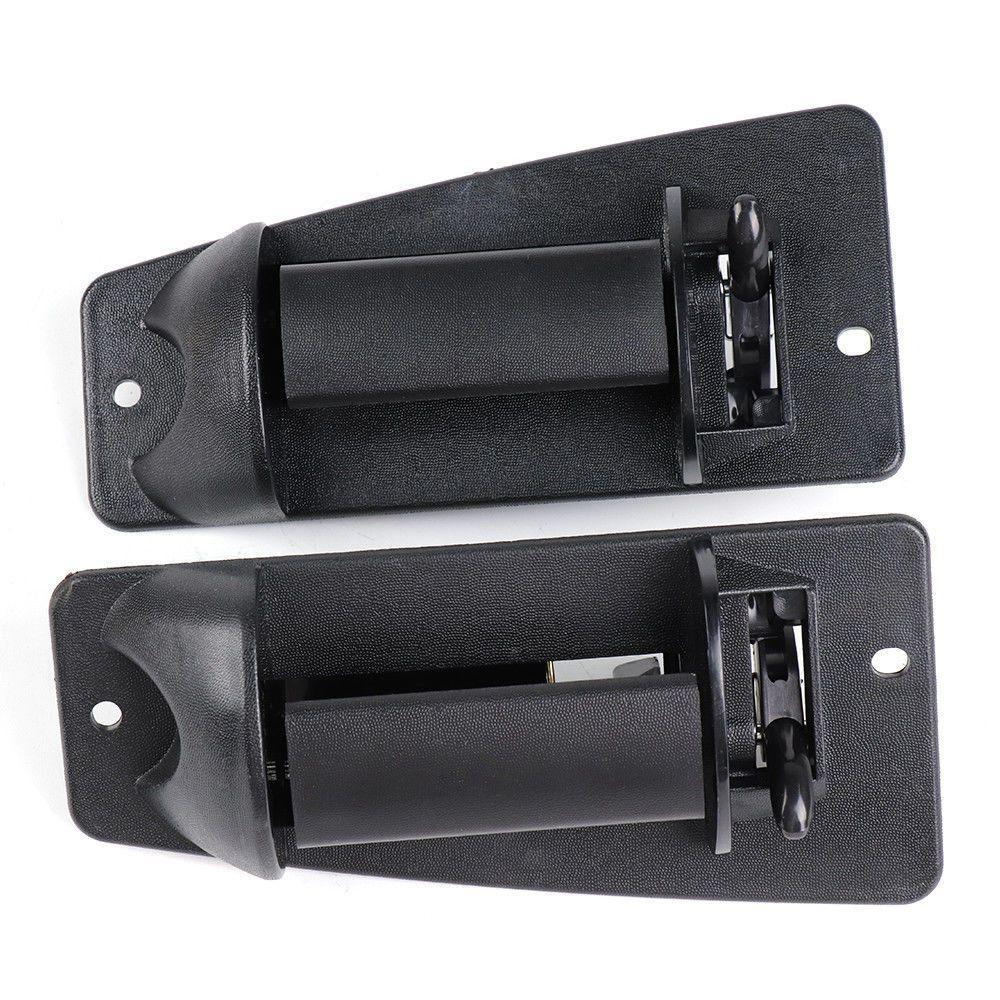 For 99-07 Chevy Silverado//GMC Sierra Pair Rear Left /& Right Exterior Door Handle