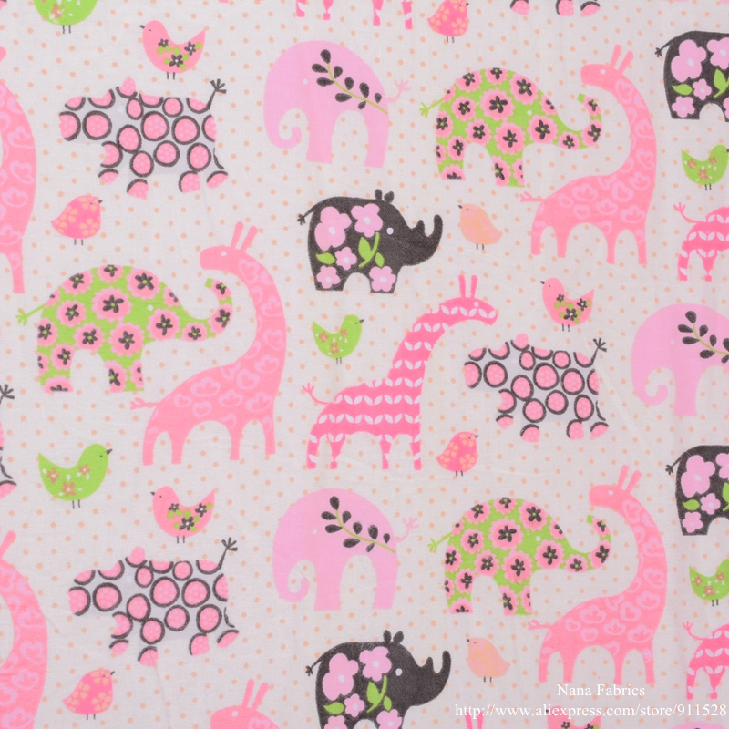 Online get cheap baby flannel fabric for Cute baby fabric prints