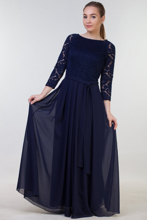 Long Dresses with Sleeves