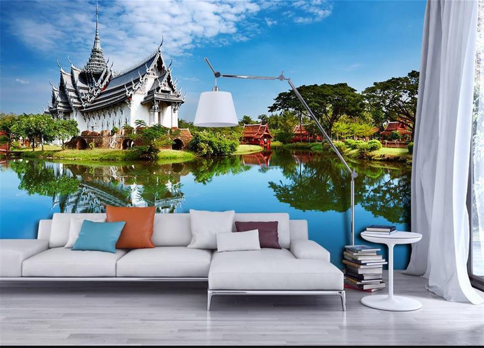 Custom Room Wallpaper Home Decor 3d Photo Mural Hd Thailand