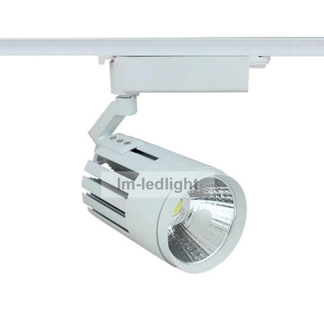 Dimmable led track lighting 20w bridgelux cob led rail warmnetural dimmable led track lighting 20w bridgelux cob led rail warmneturalpure white led aloadofball Image collections