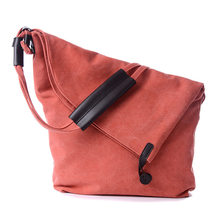 2018 new brand bag vintage canvas shoulder cross body handbag women shoulder messenger bag wallet sac a main(China)