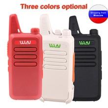 ANYSECU Walkie Talkie WLN KD C1 Mini Radio UHF 400 470 MHz 5W 16 Channel MINI handheld Transceiver Three color Optional