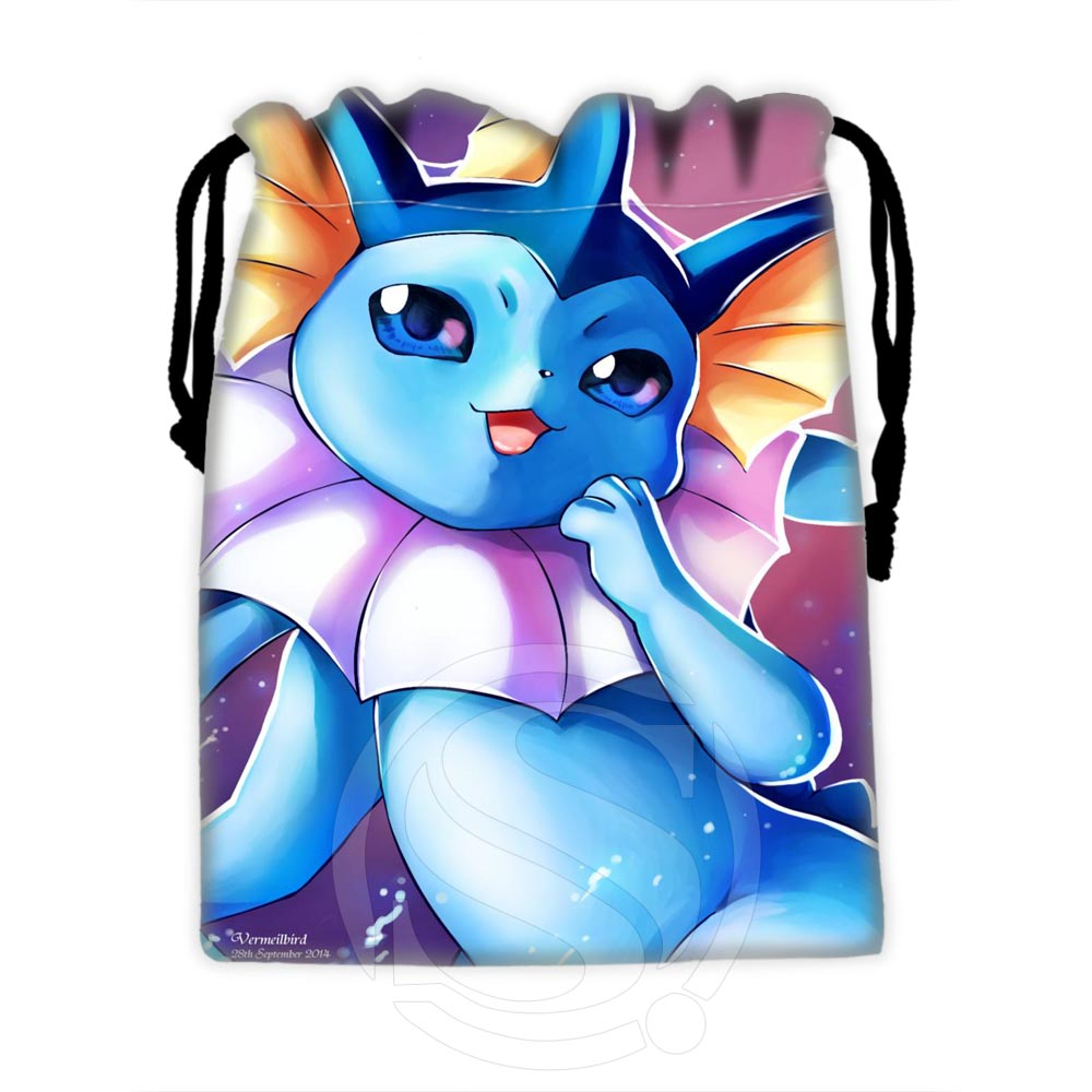 H-P601 Custom Eevee #39 Drawstring Bags For Mobile Phone Tablet PC Packaging Gift Bags18X22cm SQ00729-@H0601