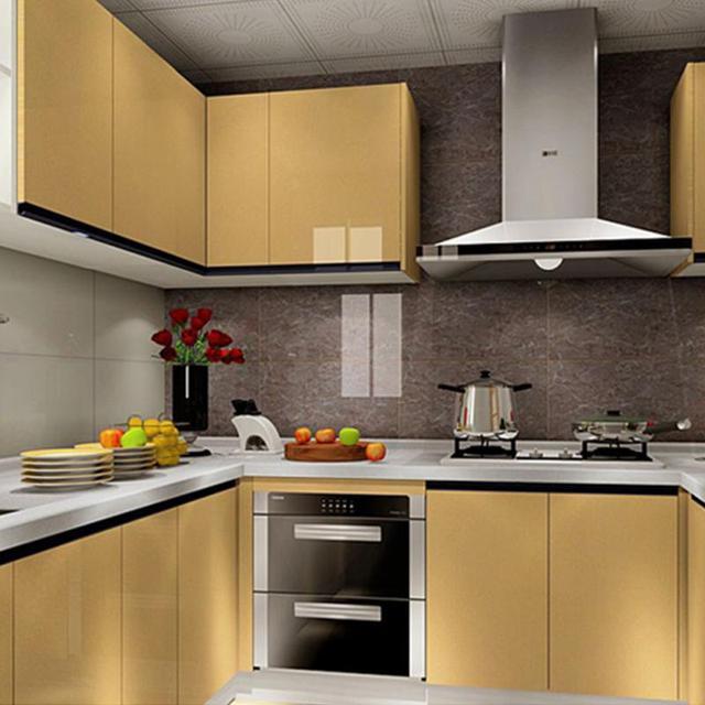 Kaka Pvc Kitchen Furniture: 60x200cm Glitter Paint Wallpaper Furniture Waterproof
