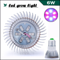 Hot Selling Full spectrum LED Grow Lights Plant LED E14/E27/GU10 5730 6W For Flower Plant Hydroponics System Grow Tent