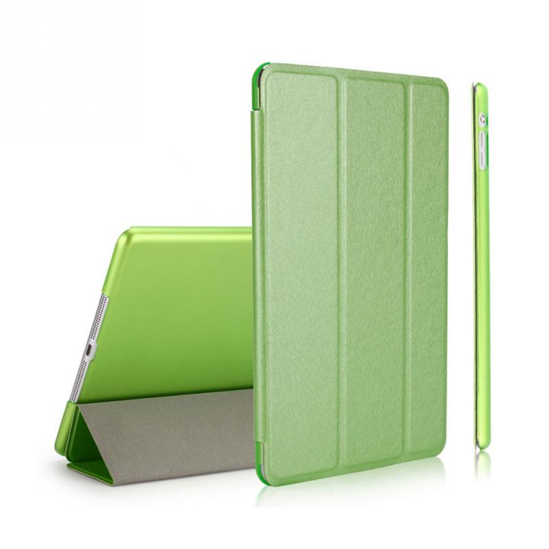 New Clamshell Ultra Slim Tablet Smart Flip Stand PU Leather Cover Case Display Wake Up / Sleep Function For iPad 6/Air 2